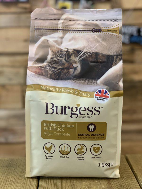 Burgess Dry Cat Food Chicken