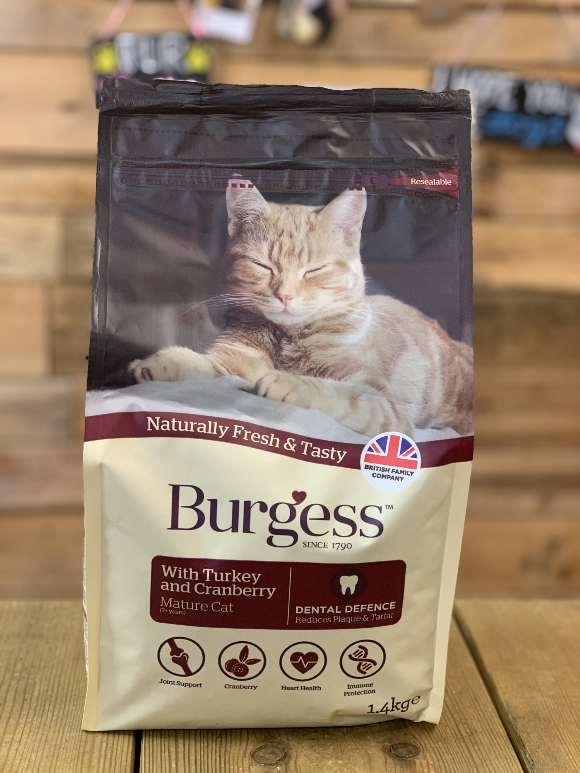 Burgess Dry Cat Food Cranberry