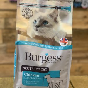 Burgess Dry Cat Food Neutered