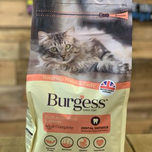 Burgess Dry Cat Food Salmon