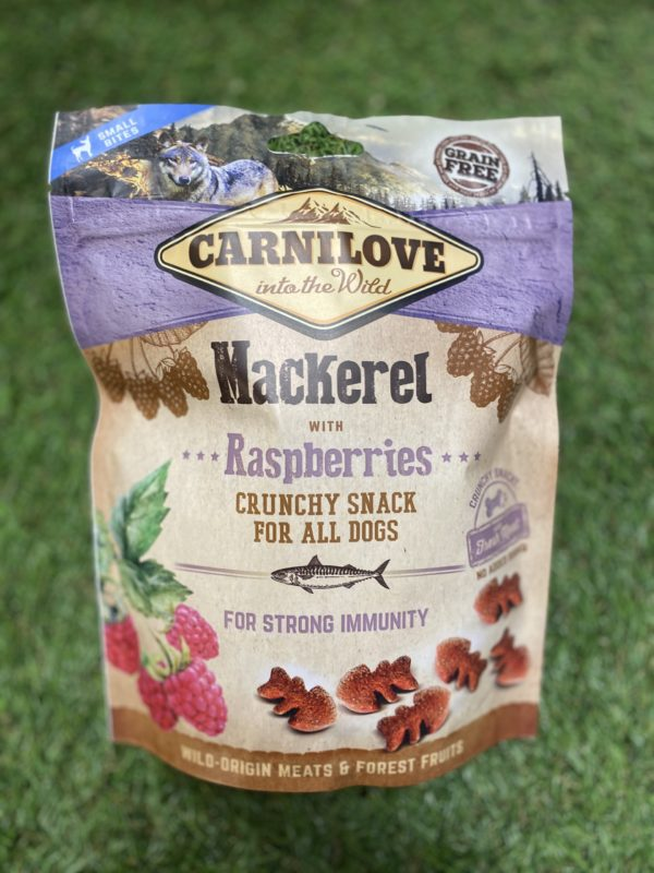 Carnilove Treats Mackerel Flavoured