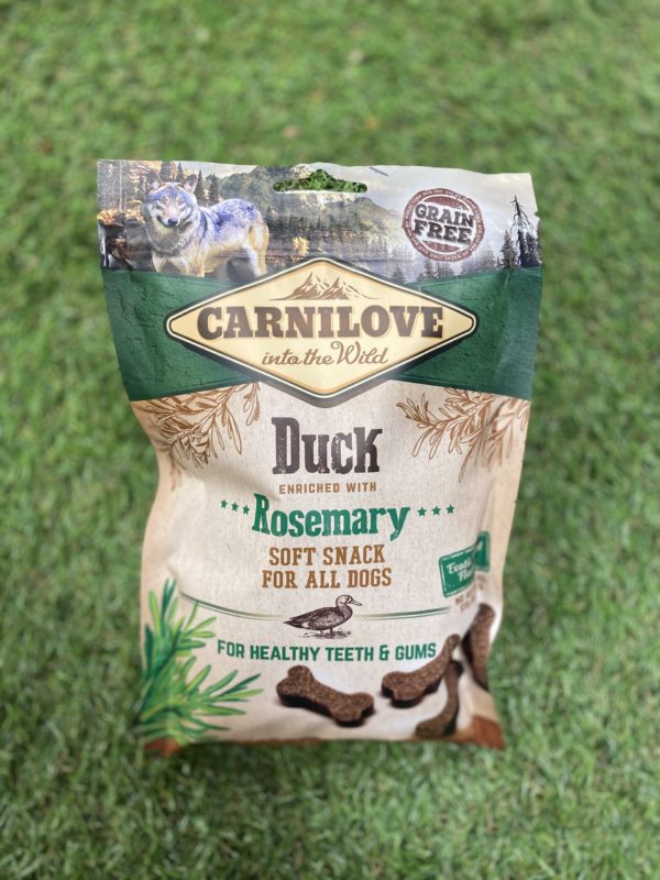 Carnilove Treats Duck Flavoured
