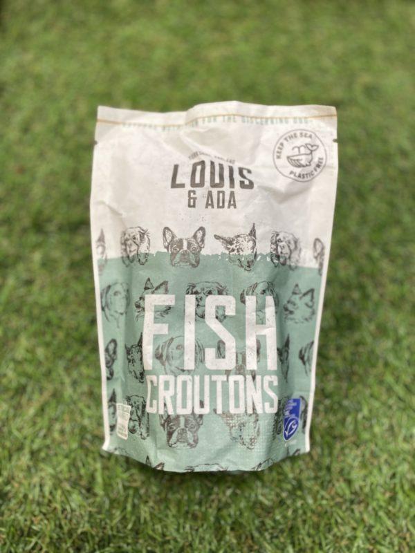 Louis and Ada Fish Crouton Treats