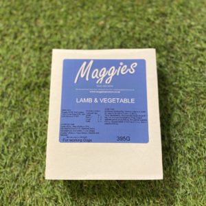Maggies Grain Free Tray Lamb and Vegetable