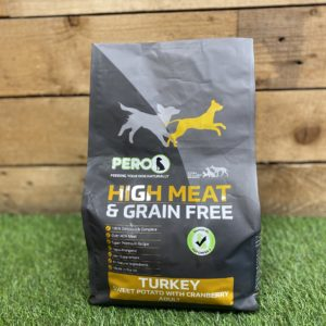 Pero High Meat Grain Free Biscuits Turkey