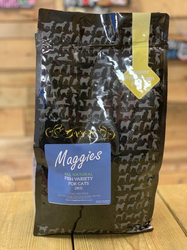 Maggies Dry Cat Food Fish